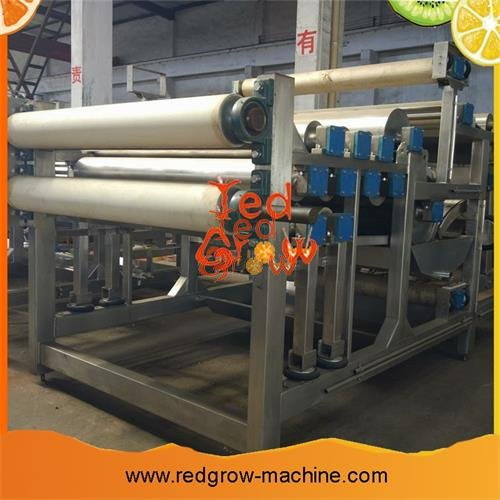 Belt Press Juicer Machine for Vegetable and Fruits Processing Line